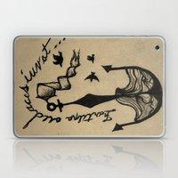 Anchor, Navy Birds Laptop & iPad Skin