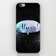 Aliens! iPhone & iPod Skin