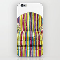 Last Chair Before Niagara Falls. iPhone & iPod Skin