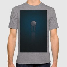 SMOOTH MINIMALISM - Star Trek Mens Fitted Tee Athletic Grey SMALL