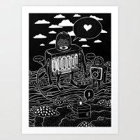 sound check Art Print