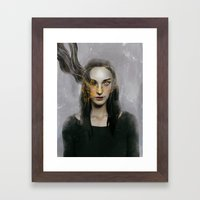 Deadly.  Framed Art Print