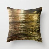 Night Light 137 - Water Throw Pillow
