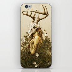 Deer secret. iPhone & iPod Skin