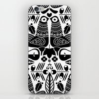 MCM Sanna Black iPhone & iPod Skin