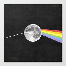 Dark Side of the Moon. Canvas Print