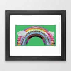 glitchbow Framed Art Print