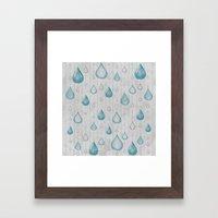 Spring Showers Framed Art Print