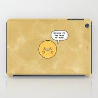 Blood Orange iPad Case