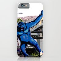 iPhone & iPod Case featuring King Kong by Ashley Marcy