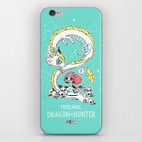 Dragon Hunter iPhone & iPod Skin