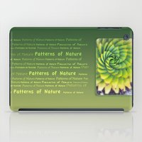 Patterns Of Nature - Suc… iPad Case