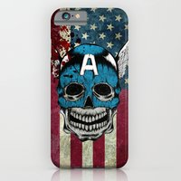 iPhone & iPod Case featuring Captain-A by happiestfung