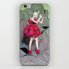 Alexander McQueen Doodle Bomb by Downtown Doodler iPhone & iPod Skin