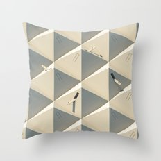 Urbana Solitude Throw Pillow