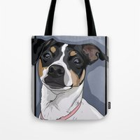 Hailey Dog Tote Bag