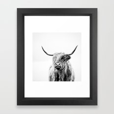Portrait Of A Highland C… Framed Art Print