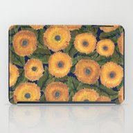 Sunflower Afternoon iPad Case