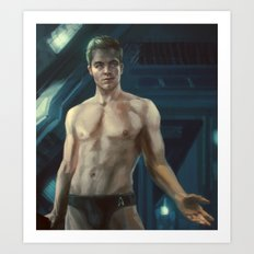 Star Trek: James T. Kirk Art Print