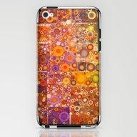 Autumnal Circles iPhone & iPod Skin