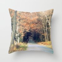 Rollin' Throw Pillow