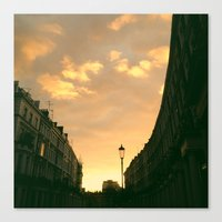 London - Collingham Place Canvas Print