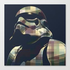 Star War   Storm Trooper… Canvas Print