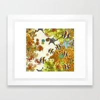 The Great Barrier Reef Framed Art Print