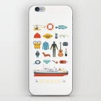 The Captain Jacques Kit iPhone & iPod Skin