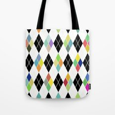 Colorful Geometric III Tote Bag