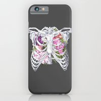 iPhone & iPod Case featuring Floral Ribcage by Trisha Thompson Adams