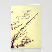 Merely Dreams Stationery Cards