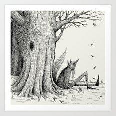 'Autumn'  Art Print