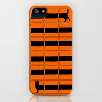 iPhone Cases featuring The Longcat is long by Tobe Fonseca