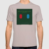 No093 My The Matrix Mini… Mens Fitted Tee Cinder SMALL