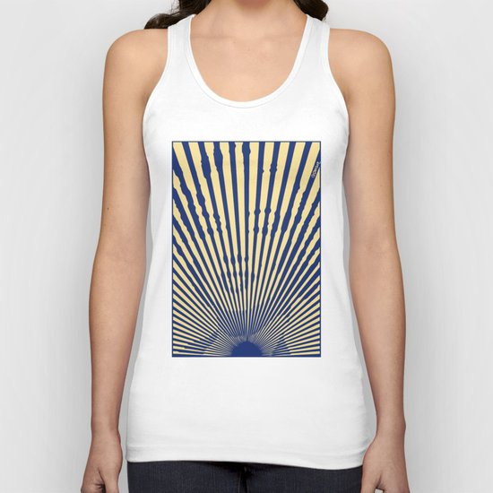 Marylin Sunset Unisex Tank Top