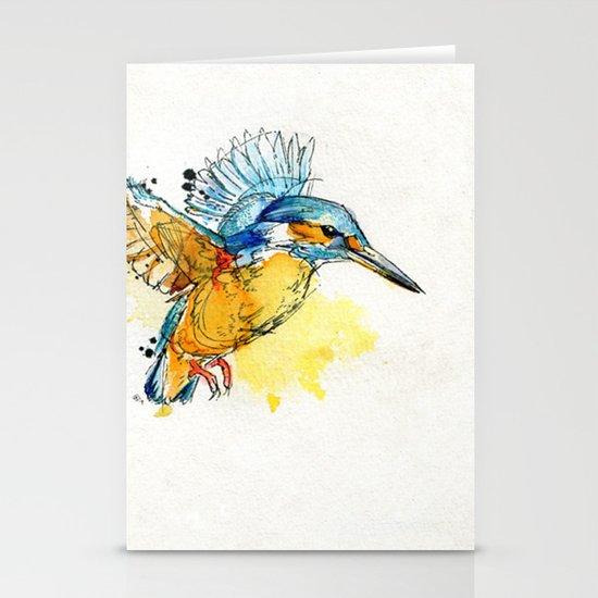 Kingfisher Stationery Card