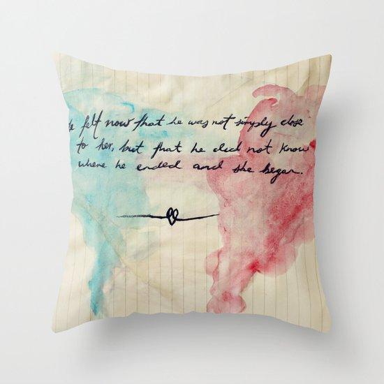 Tolstoy's Love Throw Pillow