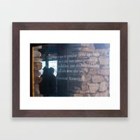 Theodore Roosevelt Grand Canyon Quote Framed Art Print