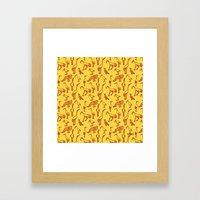 Feathered Flocks - Beak Bunch Framed Art Print