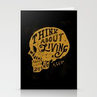 Think About Living Stationery Cards