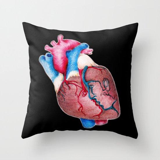 1 HEART 4 2 Throw Pillow