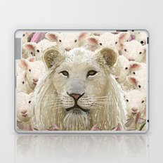 Lambs led by a lion Laptop & iPad Skin