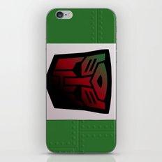 Transformers Generation 1: Rub Sign: Autobot iPhone & iPod Skin