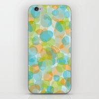 Pebbles Turquoise iPhone & iPod Skin