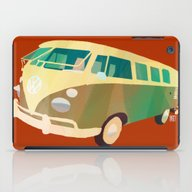 iPad Case featuring Kombi 1 by Buster Fidez