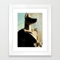 Gone To Meet Anubis. Framed Art Print