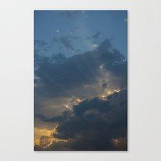 Light Breaks Canvas Print