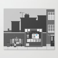Another Grey Day Canvas Print