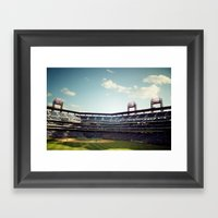 Citizen's Bank Park Framed Art Print